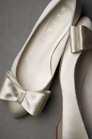 wedding shoes flats bowtie flats wedding shoes by bhldn loverly 2368111 weddbook