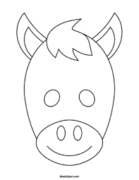 eye mask template printable mask