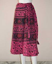 cotton skirts midi wrapper cotton skirts himalayan exports