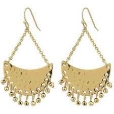 Ralph Lauren Chandelier Fashion Earrings Woman Lauren Ralph Lauren Earrings Gold Tone Shiny Sets Very