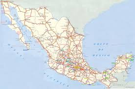 Jalisco Mexico Map Road Maps