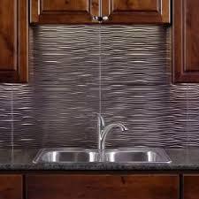 Fasade  In X  In Waves PVC Decorative Tile Backsplash In - Backsplash home depot