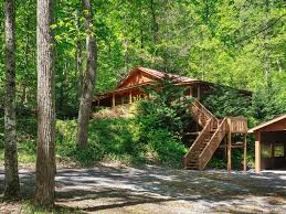 Log Homes With Wrap Around Porches Cosby Rustic Treat W Wrap Around Porch Wi Vrbo