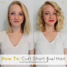 best tool for curling mid length hfine hair how to curl short fine hair tutorial hair make up nails