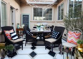 our home depot patio challenge is live the vintage rug shop the
