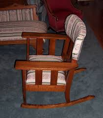 Upholstered Rocking Chairs Triple A Resale Vintage Upholstered Rocking Chair