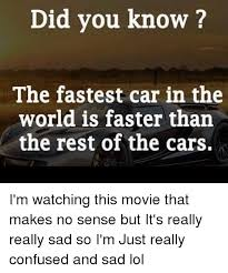 25 best memes about fastest car in the world fastest car in