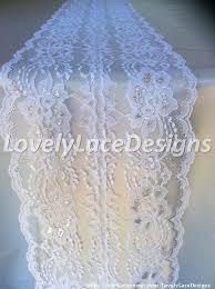 white and silver table runner 5ft 10ft white silver lace table runner 8in wide silver weddings