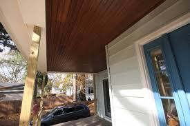 porch ceiling tomkat u0027s foursquare