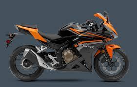 black honda motorcycle 2017 cbr500r colors honda powersports