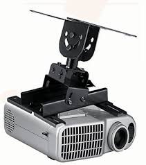 Video Projector Ceiling Mount by Projector Ceiling Mount With 22 To 32 Extension Pole Black Ebay