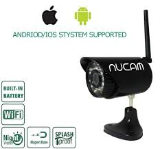 nucam wr hd wi fi portable magnetic base waterproof trailer