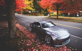 devil 350z bmw e36 red car tuning autumn 6947968