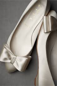 wedding shoes flats ivory bowtie flats in shoes accessories bhldn