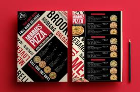 photoshop menu template a4 pizza menu template for photoshop illustrator brandpacks