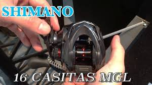 shimano bait reel 16 casitas mgl youtube