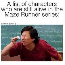 Runner Meme - funny maze runner memes youtube
