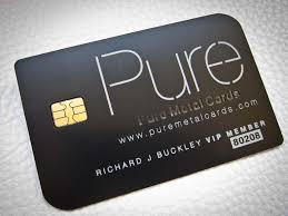 Vip Invitation Cards Matte Black Business Cards Shine