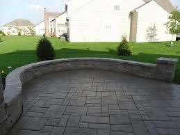 Backyard Cement Ideas Patio Cement Ideas Calladoc Us