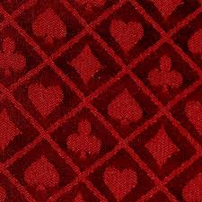 poker table speed cloth 1 foot section of high quality red polyester speed cloth