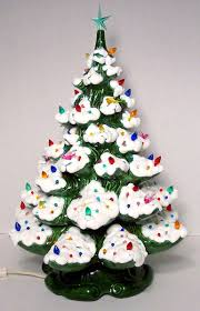 tree ceramic mold lights decoration
