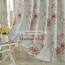 Peach Floral Curtains Best Designed Country Floral Retro Curtains Uk Buy Blue Curtains