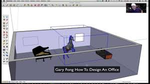 How To Design An Office How To Design Your Office On Google Sketchup Youtube
