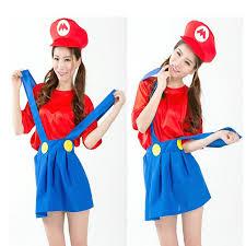 Mario Womens Halloween Costume Cheap Costume Mario Aliexpress Alibaba Group