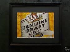 Miller Genuine Draft Pool Table Light Miller Genuine Draft Sign Light Ebay