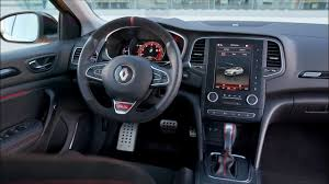 renault 4 gear shift 2018 renault megane r s interior youtube
