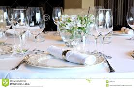 How To Set A Casual Table by How To Set Table For Dinner 6459