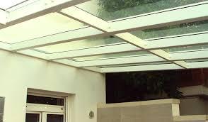 tettoie in legno e vetro pedicone serramenti tettoie e pensiline
