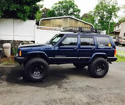 lifted jeep cherokee 35 u0027s with my 4 5