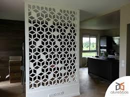 claustra de bureau création d une séparation de pièce avec un claustra contemporain