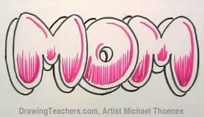 how to draw 3d bubble letters step by step the best wallpaper