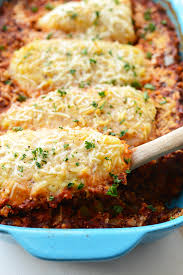 Easy Chicken Dinner Ideas For Family Healthy Chicken Parmesan Quinoa Bake Fit Foodie Finds
