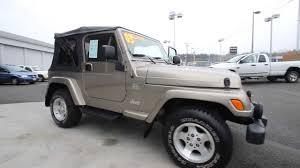 2003 Jeep Wrangler Sahara Bronze 3p304607 Mt Vernon Skagit