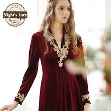 robe de chambre en velours femme robe en velours robe fashion