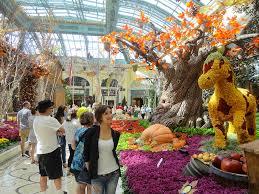 Botanical Gardens In Las Vegas Bellagio Flower Garden Vegas Style By Modernstork