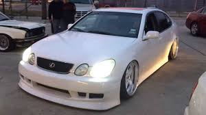 lexus gs300 vip wheels cvt designs bagged gs300 youtube
