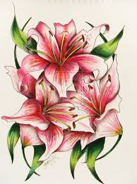 27 best easter lily tattoo designs images on pinterest best