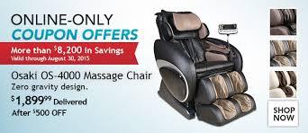 Osaki Os 4000 Massage Chair Review Osaki Os4000 Vs Ogawa Refresh Whatu0027s The Difference Osaki