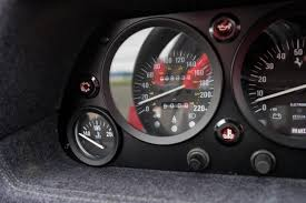 ferrari speedometer 1990 ferrari f40 silver arrow cars ltd