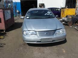 1999 au series one ford fairlane in liquid silver now wrecking