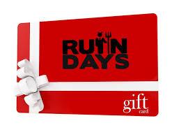 days gift gift card ruin days