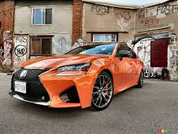 lexus gs f canada 2016 lexus gs f aimed in the wrong direction car reviews auto123