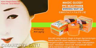 Wajah Magic Glosy magicglossy magic glossy gel gel pemutih wajah alami