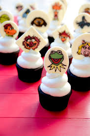muppets cupcakes u0026 easy vanilla buttercream vintage kitty