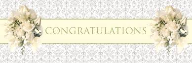congratulations wedding banner photo bridal shower signs quotes and image