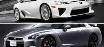 lexus lfa vs bmw m6 dos japoneses muy rápidos enfrentados lexus lfa vs nissan gt r